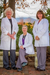 Pictured (L-R): Sally Baumgartner, Stephanie Griffin & Rachael Jenkins