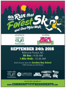 Run The Forest PACE Poster
