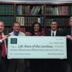 Asheville Eye Associates Presents Check to LifeSHare of the Carolinas